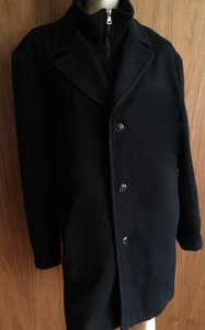 Barneys New York Men's Black Barney's New York Coat