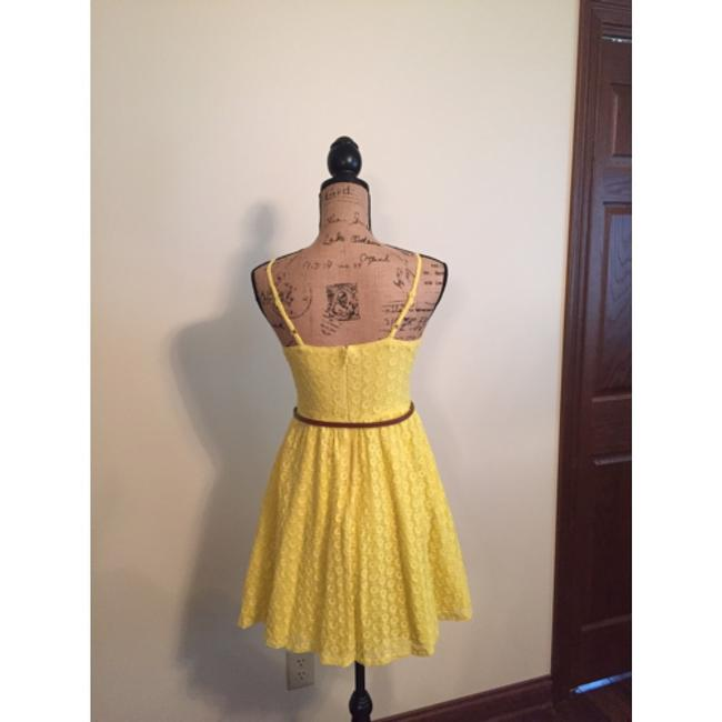 Mossimo Supply Co. short dress Yellow on Tradesy