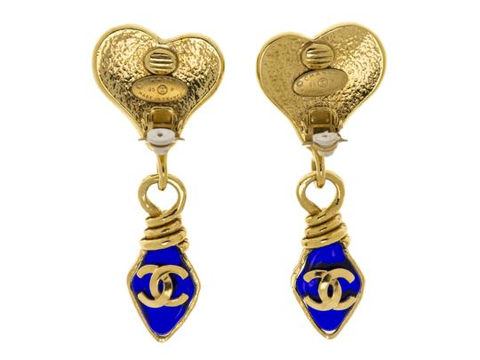 Chanel Chanel Gripoix Heart Earrings
