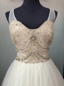Cristiano Lucci Ivory Lace Olivia Vintage Wedding Dress Size 6 (S)