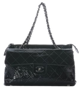 Chanel Patent Leather Ch.j0420.08 Shoulder Bag