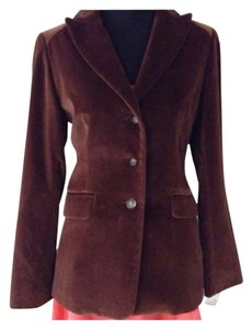 Bernardo Velvet New Brown Blazer
