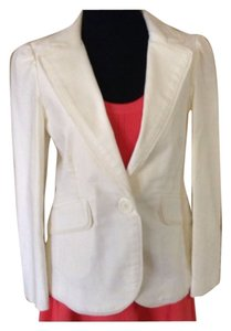 Marc Jacobs Cotton White Blazer