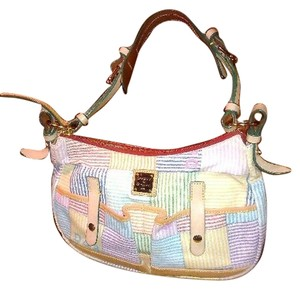 Dooney & Bourke Canvas Tote in Multi-Color