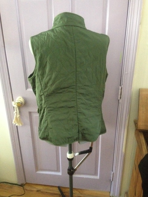 Talbots Quilted Fleece Lined Vest