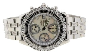Breitling MEN'S BREITLING CHRONOMAT DIAMOND WATCH