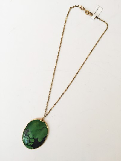 Independent Clothing Co. African Turquoise Statement Necklace