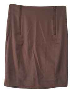 H&M Acetate Polyamide Elastane Mini Skirt Purple