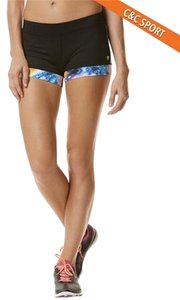 C&C California Velocity Block Short With Tie Dye Printed Trim