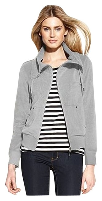 Preload https://item1.tradesy.com/images/michael-kors-french-terry-zippered-size-petite-8-m-5674195-0-0.jpg?width=400&height=650
