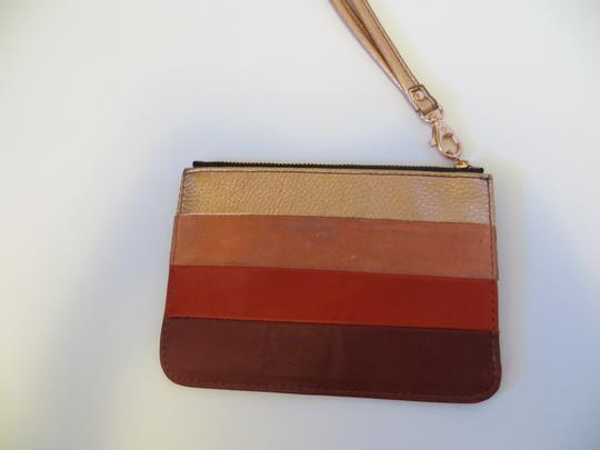 Fossil Fossil Giftable Small Zip Pouch Wristlet SL4422 Red Multi