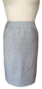 Calvin Klein Skirt Steel Grey