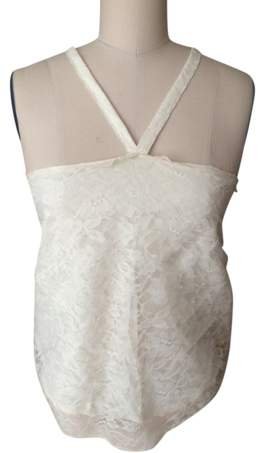 Other Creme Halter Top