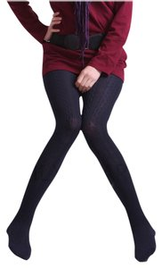 Forever 21 Knitted Warm Autumn black Leggings