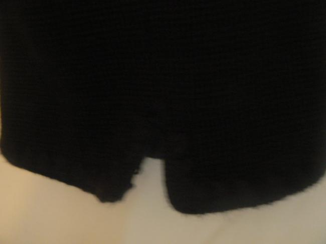 Ann Taylor Career Button Down Front Double Long Sleeves Vintage Black Jacket