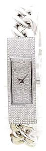 Michael Kors New! Michael Kors Crystal Pave Silver Bracelet Watch!