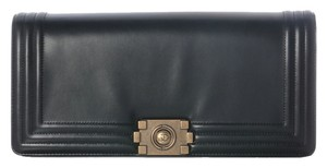Chanel Black Boy Ch.j0428.05 Clutch
