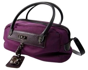 Marc Jacobs Nylon Bowler Frog Tote in Purple
