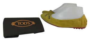 Tod's Leather Logo Flats