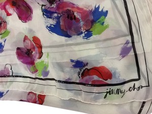 Jimmy Choo Jimmy Choo silk scarf