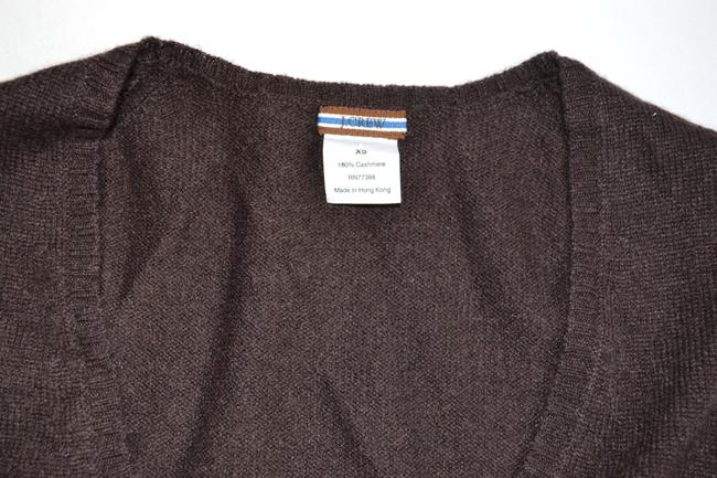 J.Crew Cable V-neck Cashmere Sweater
