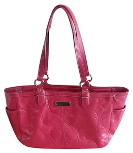 Coach Gallery Tote in pink