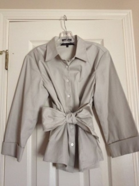 Preload https://item3.tradesy.com/images/anne-klein-taupe-with-a-sash-blouse-size-12-l-5682-0-0.jpg?width=400&height=650