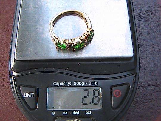 Other 14k Yellow Gold Filled Emerald Ring (Stock# 13)