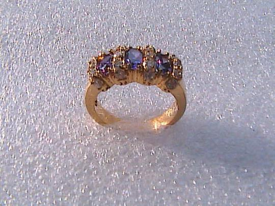 Other 14k Gold Filled Amethyst Ring (Stock#7)