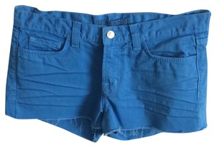 J Brand Cut Off Shorts Blue bonnet