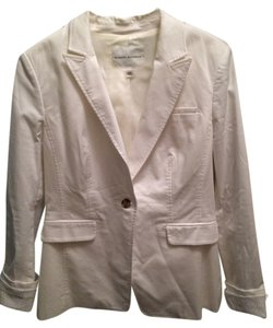 Banana Republic White Blazer