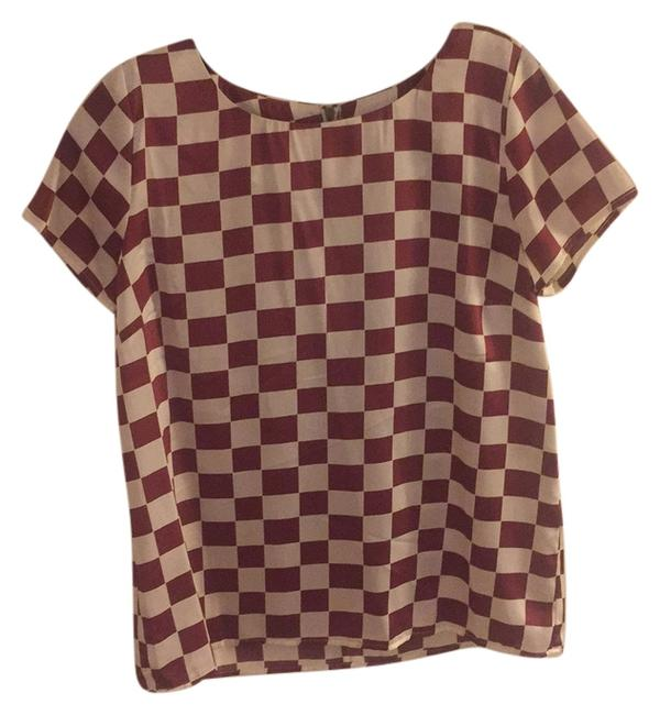 Preload https://item4.tradesy.com/images/anthropologie-top-maroon-and-white-5682763-0-0.jpg?width=400&height=650