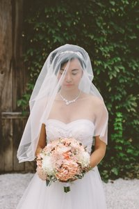 Romantic Silk Veil