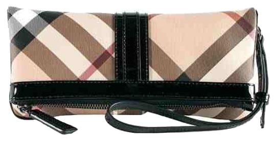 Burberry London Black - Chequered Clutch