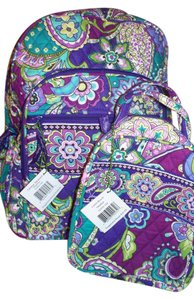 fcf0f89fe29a Vera Bradley Campus Laptop Computer Lunch Box Tote School College Baby  Toddler Travel Beach Gift Graduation