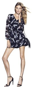 Express Romper Summer Comfy Flowy Lbd Longsleeve Shorts Mini Dress