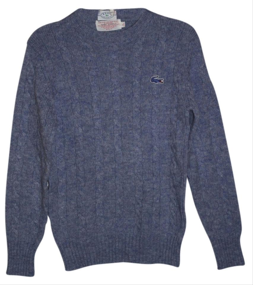 lacoste blue sweater pullover size 00 xxs tradesy. Black Bedroom Furniture Sets. Home Design Ideas