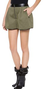3.1 Phillip Lim Dress Shorts Army Green