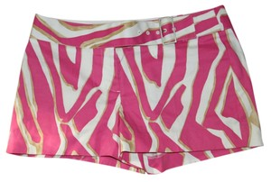 Express Shorts Pink/Ivory/Gold