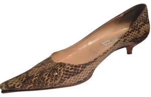 Jimmy Choo Snakeskin Pumps