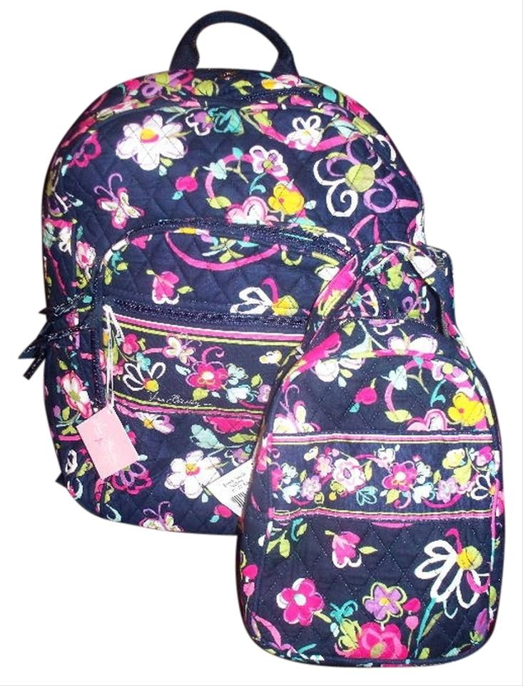 Vera Bradley Campus Laptop Computer Lunch Box Tote School College Baby  Toddler Travel Beach Purple Gift ... 42b576182d9e3