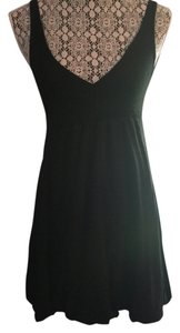 H&M short dress Black Empire Waist V-neck on Tradesy