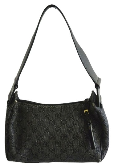 Preload https://item1.tradesy.com/images/gucci-black-and-white-canvas-shoulder-bag-5686825-0-0.jpg?width=440&height=440