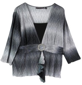 Simply French Womens Top Gray