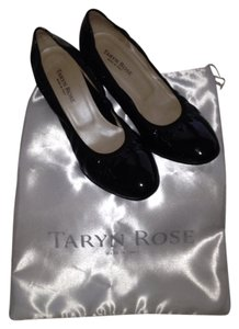 Taryn Rose Black Patent Leather Pumps