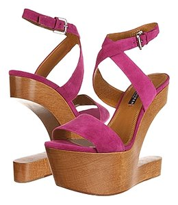Ralph Lauren Collection Label Label Pink Sandals