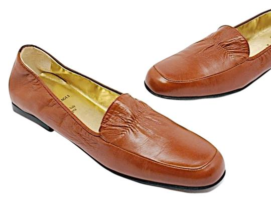 Preload https://item4.tradesy.com/images/bruno-magli-loafer-polished-leather-rust-flats-5688148-0-0.jpg?width=440&height=440