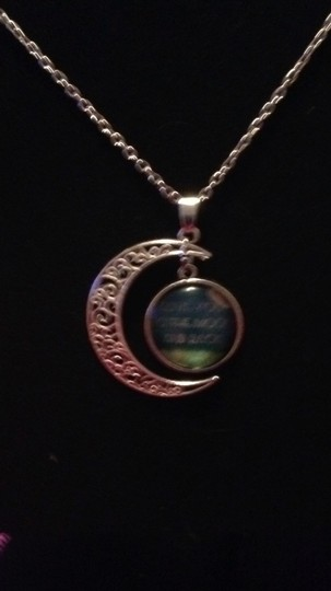 opia From The Moon Back Necklace