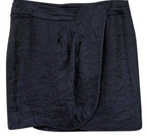 Nanette Lepore Polyblend Tea Part Mini Skirt Navy