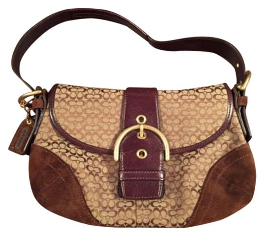Preload https://item1.tradesy.com/images/coach-soho-signature-handbag-brown-leather-suede-canvas-hobo-bag-5688550-0-0.jpg?width=440&height=440